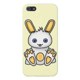 Kawaii Yellow Bunny Case For iPhone SE/5/5s