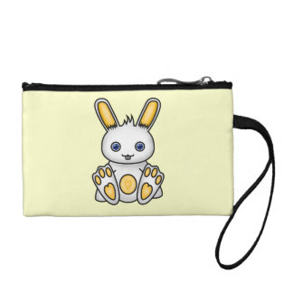 Kawaii Yellow Bunny Coin Purse