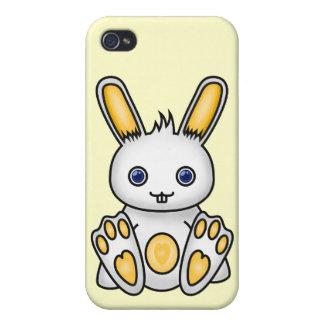Kawaii Yellow Bunny iPhone 4/4S Covers