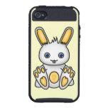 Kawaii Yellow Bunny iPhone 4 Covers