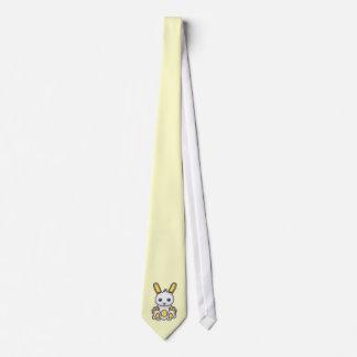 Kawaii Yellow Bunny Neck Tie