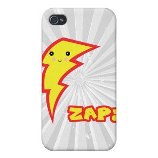 kawaii zap lightning bolt case for iPhone 4