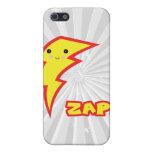kawaii zap lightning bolt cover for iPhone 5