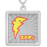 kawaii zap lightning bolt custom necklace