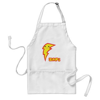 kawaii zap lightning boltt adult apron