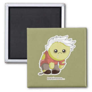 Kawaii Zombie 2 Inch Square Magnet