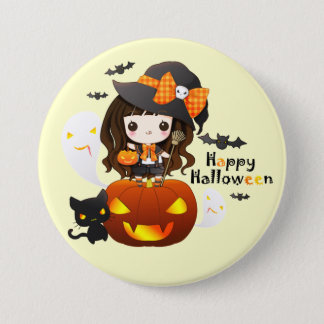 Kawaiii Halloween Button