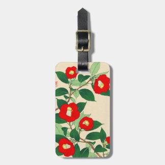 Kawarazaki Shodo Calander floral de las flores de Etiquetas Maletas