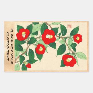 Kawarazaki Shodo Calander floral de las flores de Rectangular Altavoces