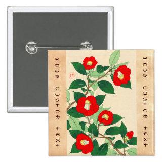 Kawarazaki Shodo Calander floral de las flores de Pins