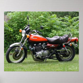 Kawasaki 1973 Z1 IMG_3693 Póster
