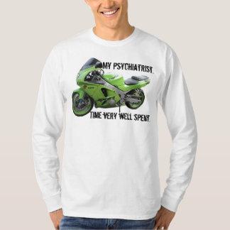 Kawasaki Green Ninja ZX-6R Motorcycle, Street Bike T-Shirt