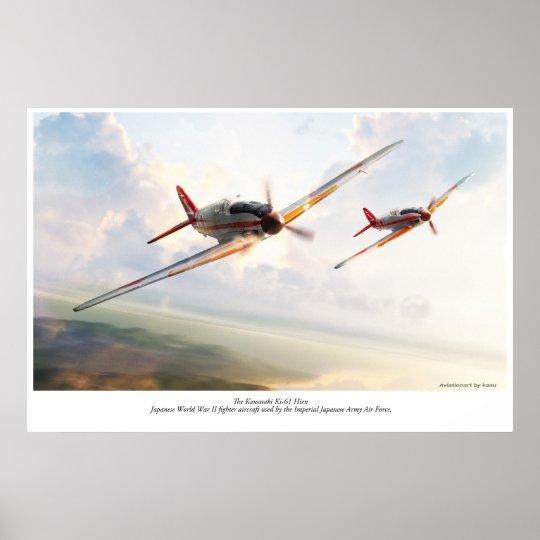 Kawasaki Ki-61 Poster