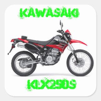 Kawasaki KLX250 stickers