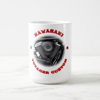 Kawasaki Voyager VN 1700 Custom ABS Classic White Coffee Mug