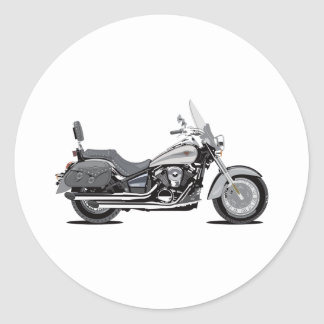Kawasaki Vulcan Classic Round Sticker