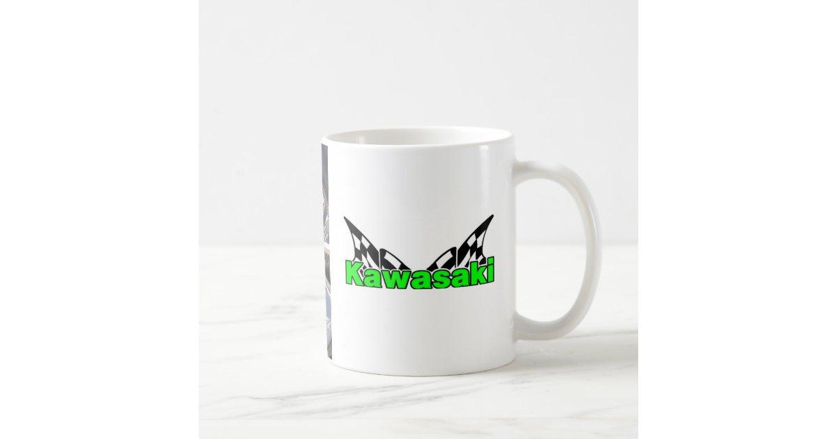 591158b9879 Kawasaki ZX14R Ninja Coffee Mug   Zazzle.com