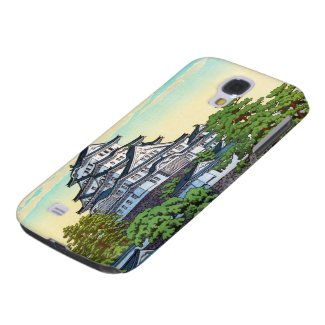 Kawase Hasui Pacific Transport Lines Himeji Castle Samsung Galaxy S4 Case