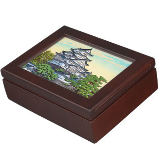 Kawase Hasui Pacific Transport Lines Himeji Castle Memory Box