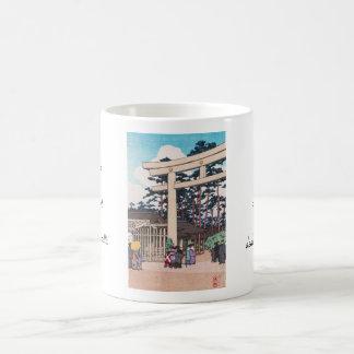 Kawase Hasui Shinto Architecture Meiji Shrine art Coffee Mug
