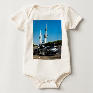 Kawazaki Nomad at Kuwait Towers Baby Bodysuit