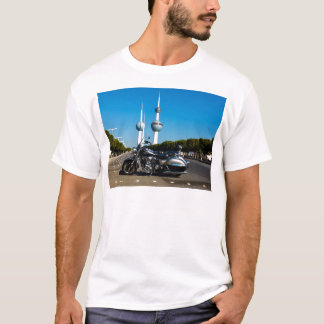 Kawazaki Nomad at Kuwait Towers T-Shirt