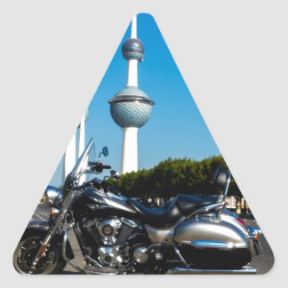 Kawazaki Nomad at Kuwait Towers Triangle Sticker