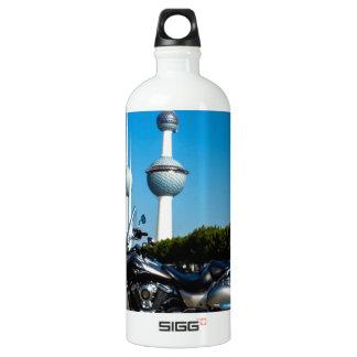 Kawazaki Nomad at Kuwait Towers Water Bottle