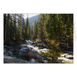 Kaweah River in Sequoia National Park Card