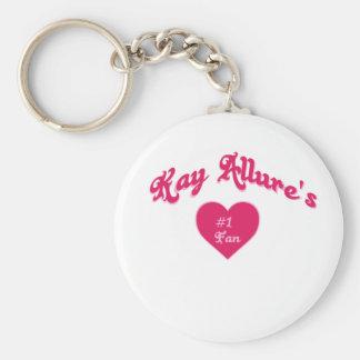 Kay Allure's #1 fan Keychain