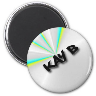 Kay b Limited logo 2 Inch Round Magnet