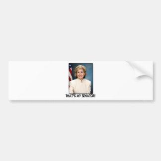 Kay Bailey Hutchison, That's My Senator! Bumper Sticker