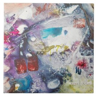 "Kay Cassill Ceramic Tile: ""Fish Fry"" Ceramic Tile"