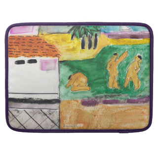 Kay Cassill Fine Art 'O Cozumel' Sleeve For MacBooks