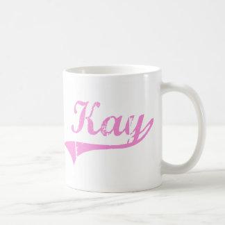 Kay Classic Style Name Coffee Mug