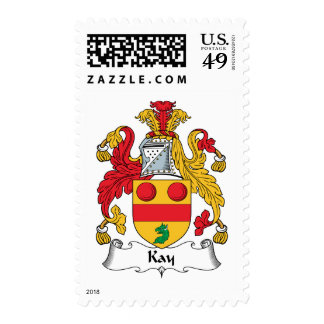 Kay Family Crest Postage