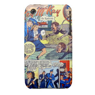 Kay McKay Air Hostess Extraordinaire 3G-3Gs case