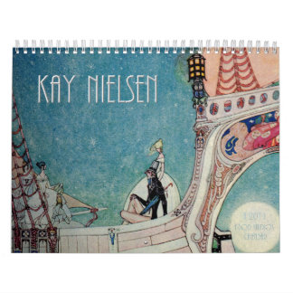 Kay Nielsen 2011 Wall Calendar