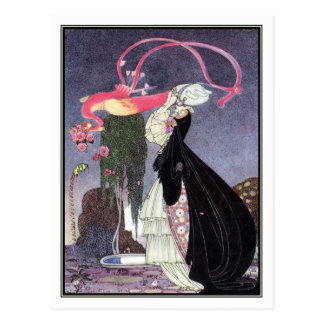 Kay Nielsen - In Powder and Crinoline Postcard
