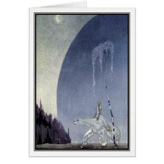 Kay Nielsen - The White Bear Card