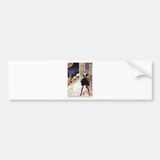 Kay Nielsen - Twelve Dancing Princesses Bumper Sticker