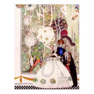 Kay Nielsen's Bluebeard Fairy Tale Postcard