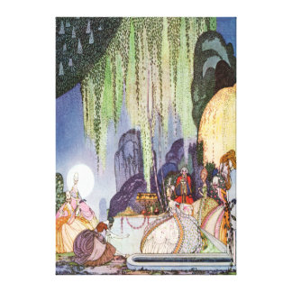 Kay Nielsen's Cinderella at the Ball Canvas Print