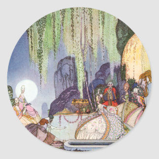 Kay Nielsen's Cinderella at the Ball Classic Round Sticker