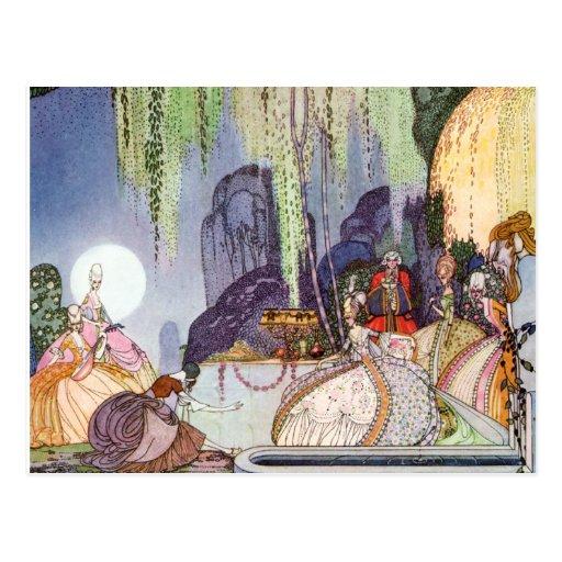 Kay Nielsen's Cinderella at the Ball Post Card