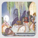 Kay Nielsen's Cinderella at the Ball Square Sticker