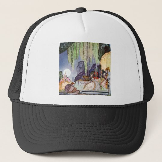 Kay Nielsen's Cinderella at the Ball Trucker Hat
