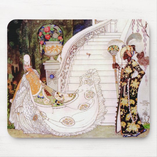 Kay Nielsen's Cinderella Fairy Tale Mouse Pad