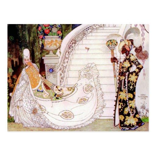 Kay Nielsen's Cinderella Fairy Tale Post Cards