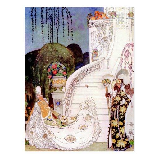 Kay Nielsen's Cinderella Fairy Tale Postcards